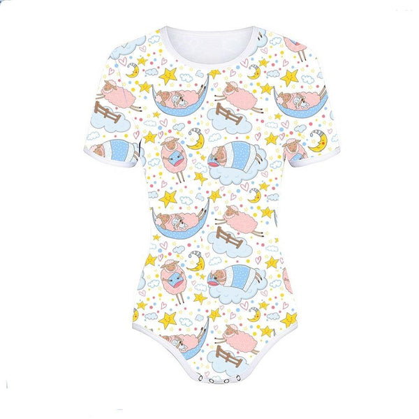 Sleepy Sheep Onesie - XXXL - bodysuit, bodysuits, jumper, jumpers, jumpsuits