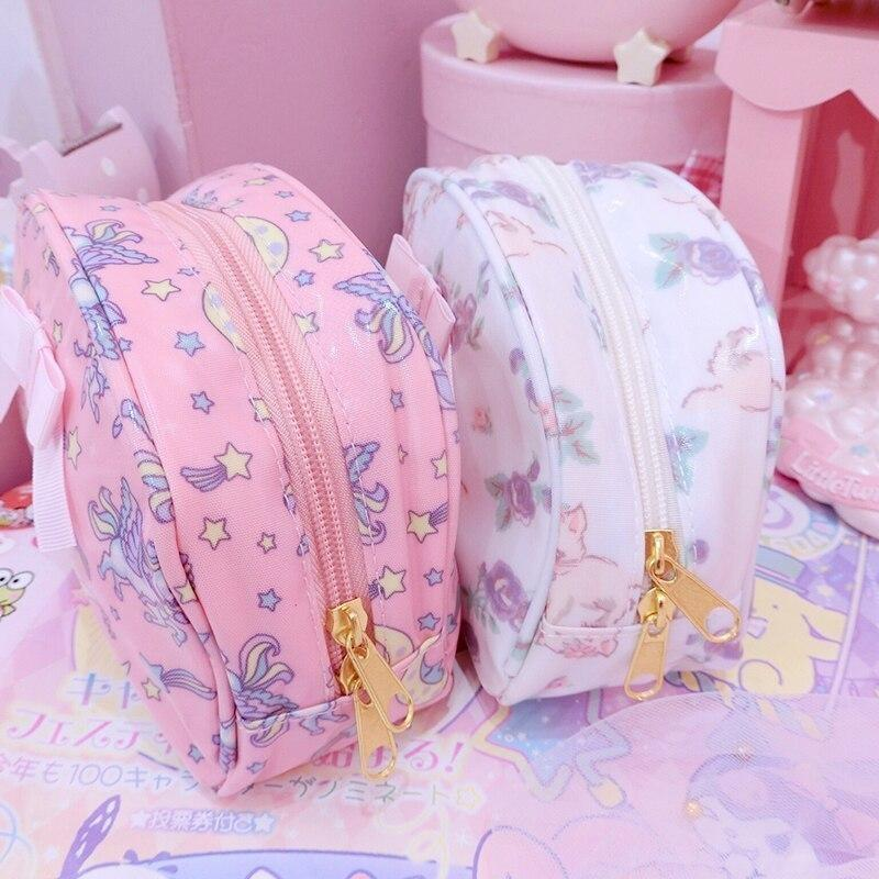 Smol Unicorn Cosmetic Bag - storage