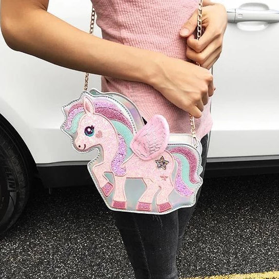 Sparkle Pegasus Handbag - bag