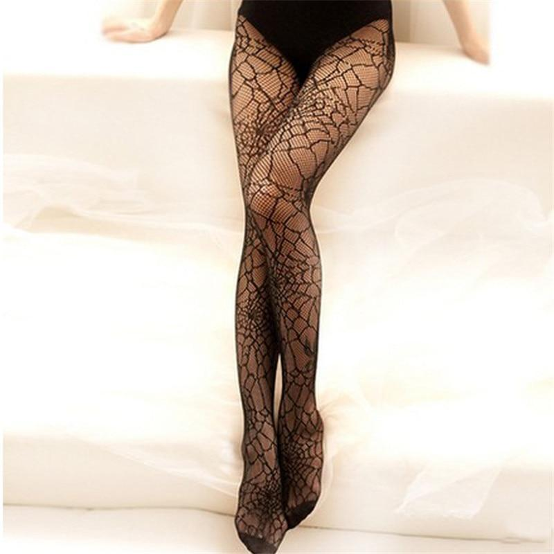 Spider Web Fishnet Tights - fish net, fishnet, fishnets, goth, gothic