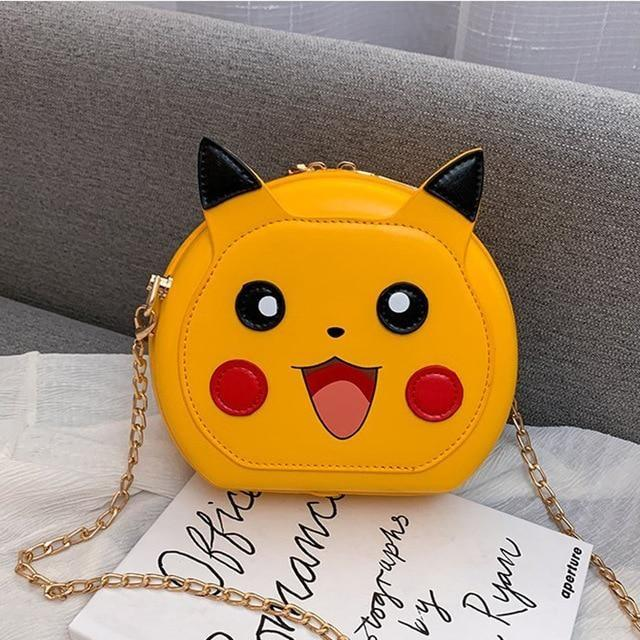 Spoopy Pumpkin Bag - Pikachu Bag - purse