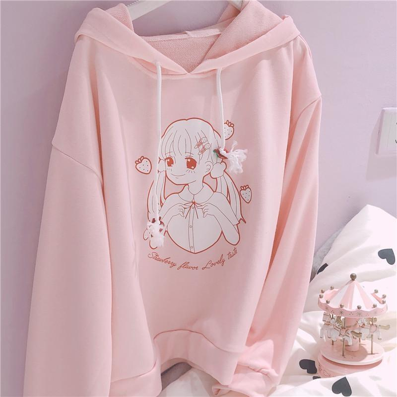 Strawberry Girl Hoodie