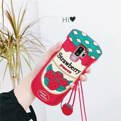 Strawberry Jam Samsung Case - S6 - phone case