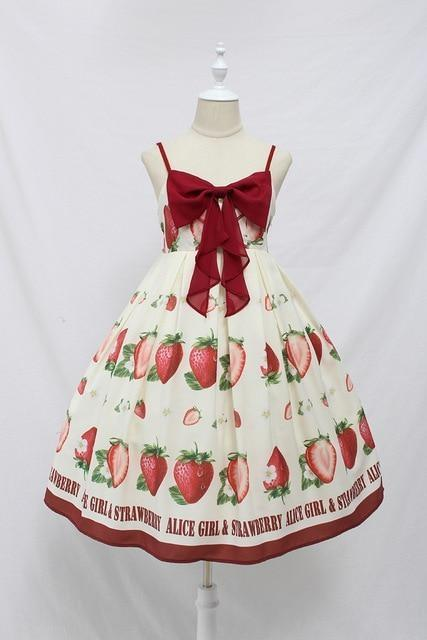 Strawberry Maiden Dress - Dress