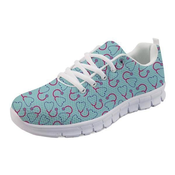 Sweet Baby Runners - Blue Stethoscope / 5 - shoes