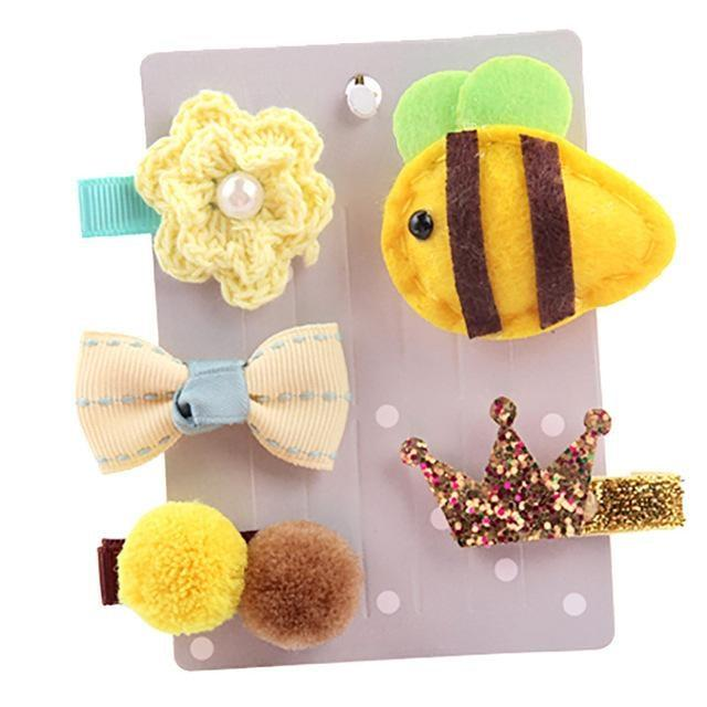 Sweet Hair Barrettes - Bumble Bee - Hair