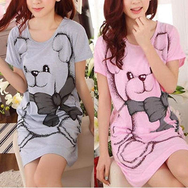 Teddy Bear Nightgown Night Sleepwear Dress ABDL CGL Age Play Kink Fetish Little Girl by DDLG Playground