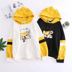 Tiny Pupper Hoodie - White / One Size - sweater