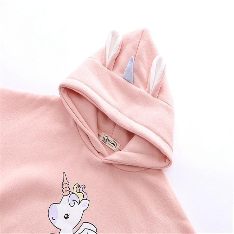 Tiny Unicorn Hoodie - sweater