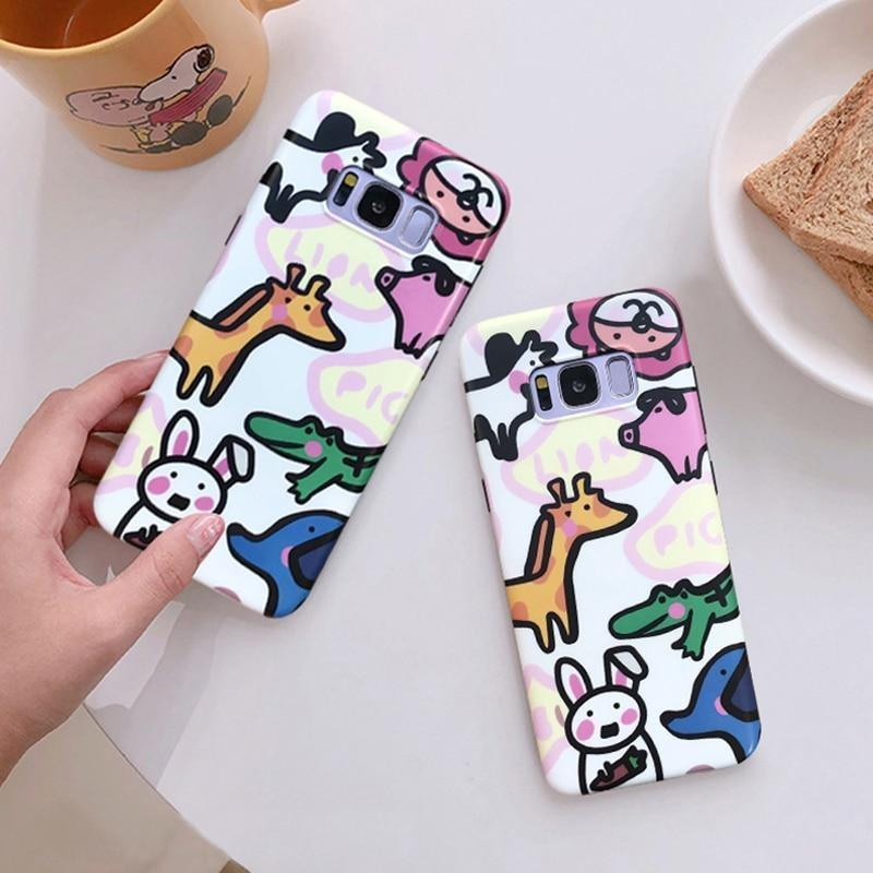Tiny Zoo Samsung Case - phone case