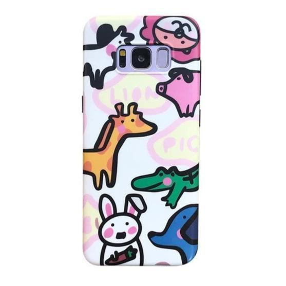 Tiny Zoo Samsung Case - For Samsung S10 - phone case