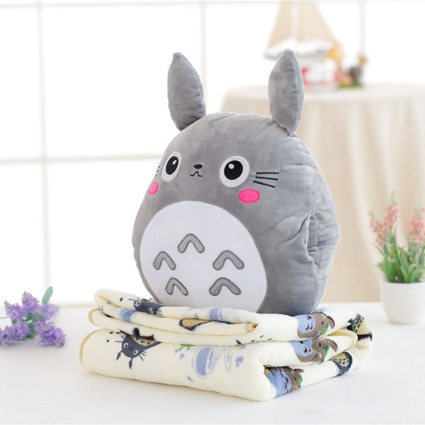 Totoro Plush & Blanket Set