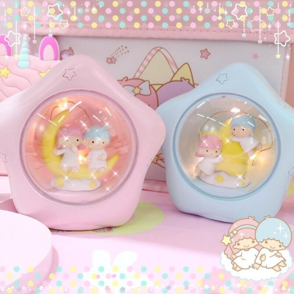 Twin Star Night Lights - Set Of Both (2 Pieces) - lamp