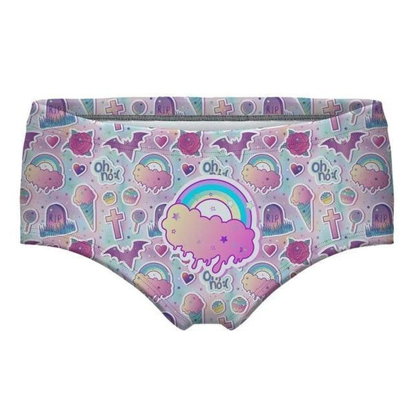 Unicorn Panties - Kawaii Pastel Goth / S - underwear