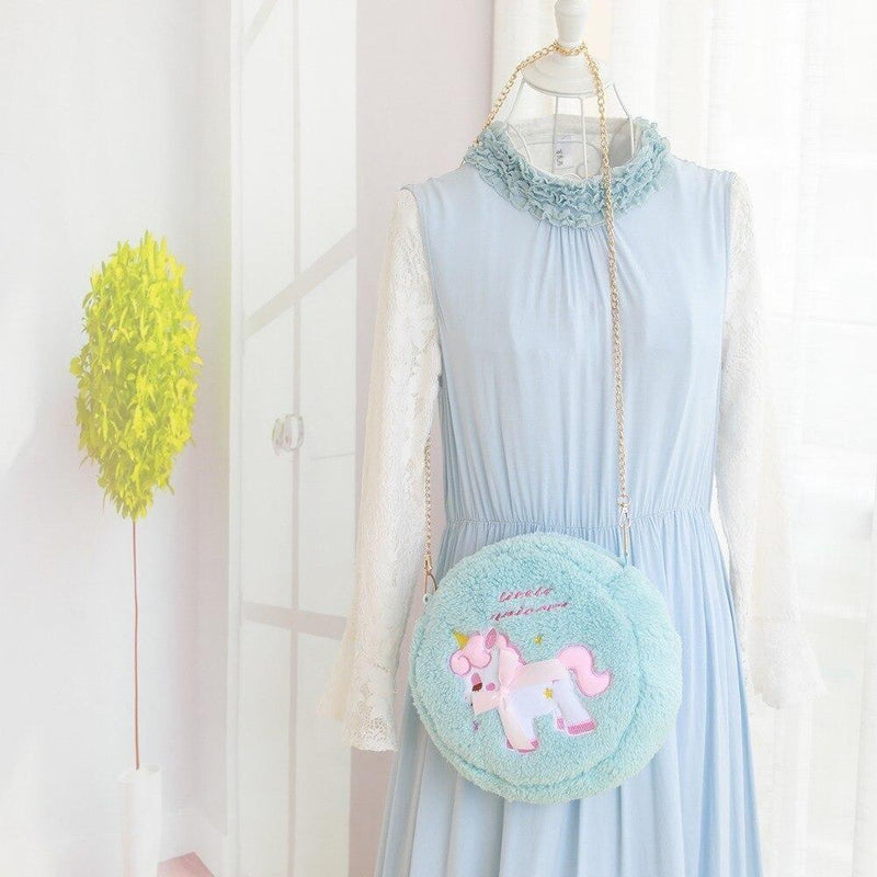Unicorn Sweet Lolita Bag - Blue Unicorn Purse - purse
