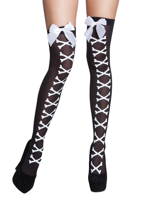 Bone Corset Stockings
