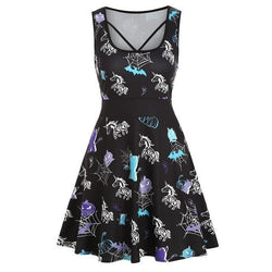 Zombie Unicorn Dress - XXL - dress