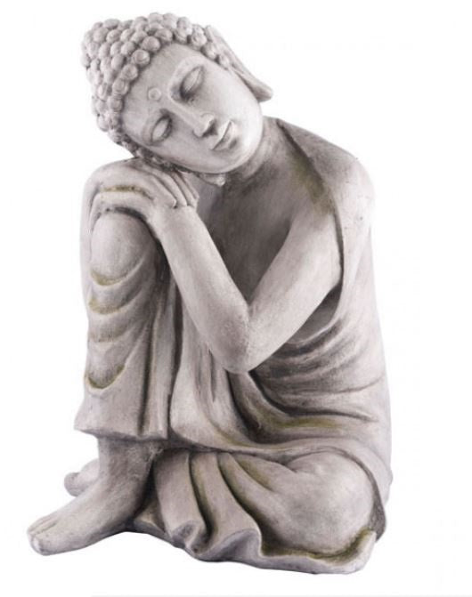 Buddha Thinking Gray
