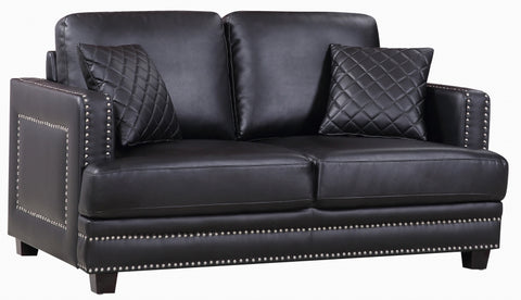 Ferrara Leather Loveseat