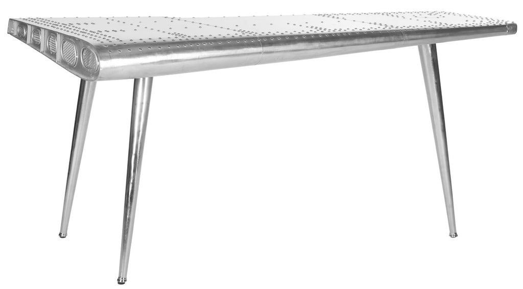 BELLA LUXE AVIATOR WRITING TABLE WITH SS LEG
