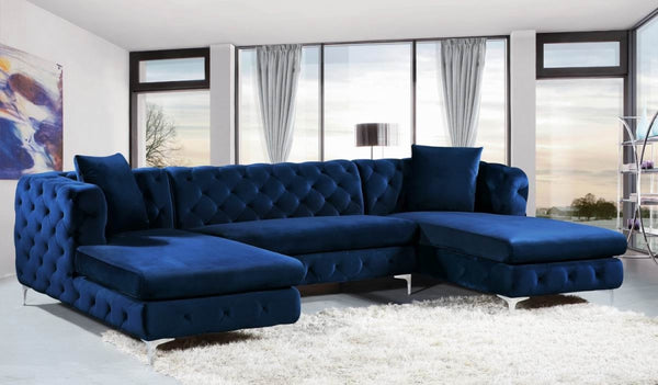 Gail Velvet Sectional