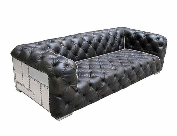 BELLA LUXE AVIATOR CHESTERFIELD SOFA