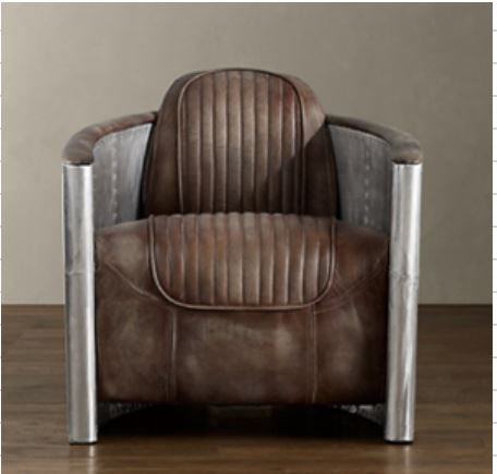 BELLA LUXE AVIATOR ACCENT CHAIR