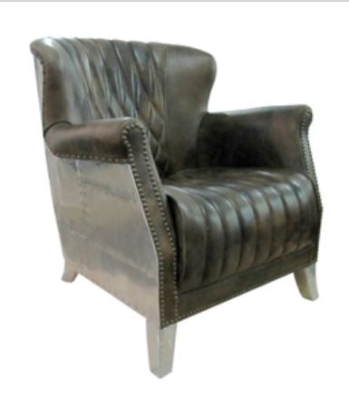BELLA LUXE AVIATOR CLASSIC WING CHAIR