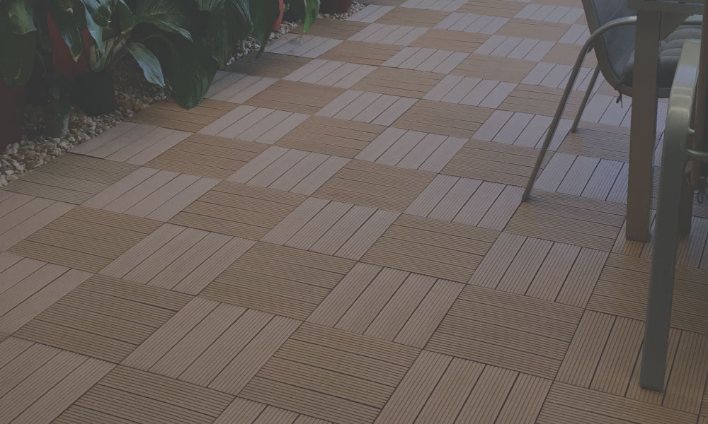 DIY, easy to install, quick, maintenance free, resurface decking, concreted terraces, tiled balconies