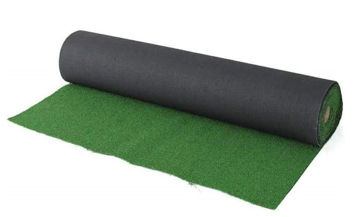 Decko grass tiles vs roll up synthetic grass