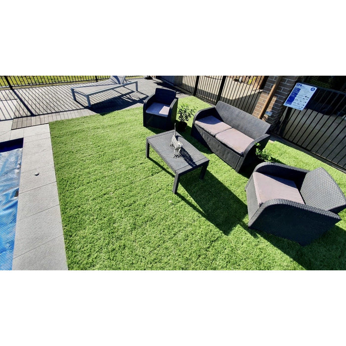 DECKO Artificial Grass Tiles - Price/ box of 11 Tiles = 1 sqm
