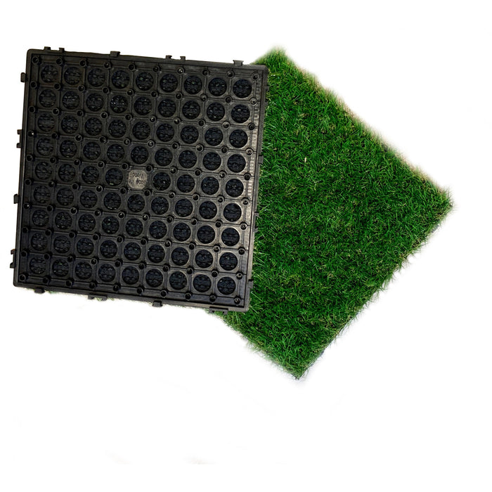 DECKO Grass Tile - Price/ box of 11 Tiles = 1 sqm