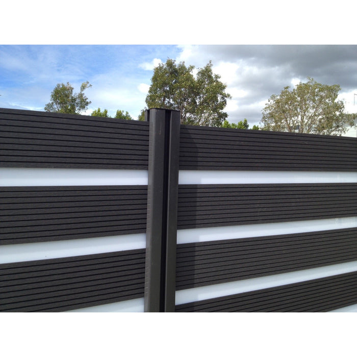 ECW Zebra Premium Fence Kit with ECW Boards