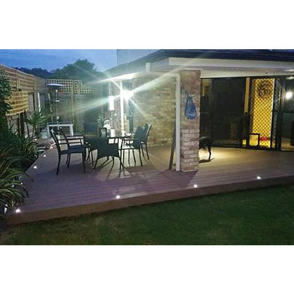 Set of 10 Multicolour LED Deck Lights