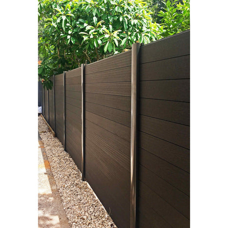 Aluminium Fence Post - 2400/100/85