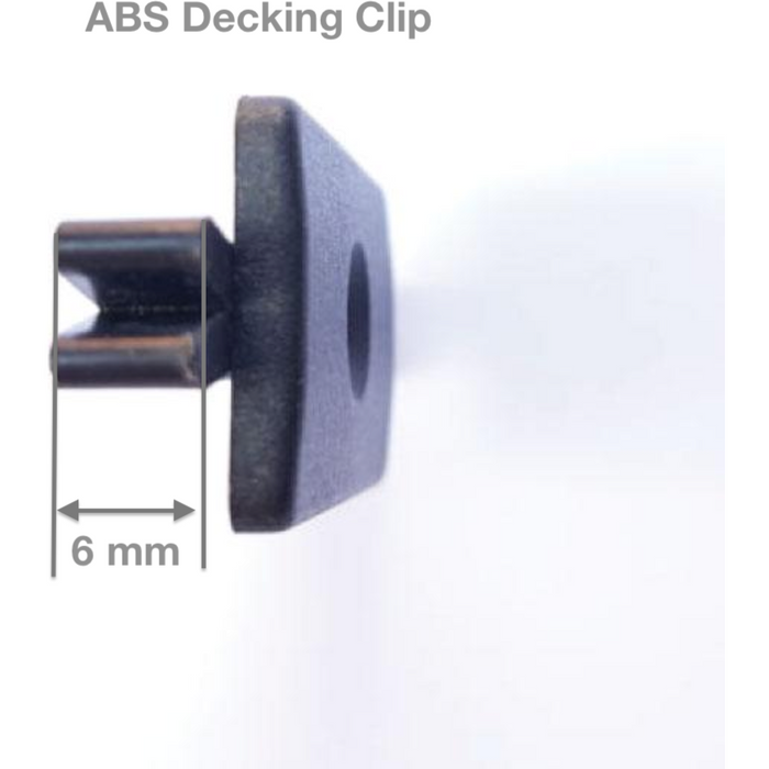 ABS Clips -pack of 10 - for Decking Board