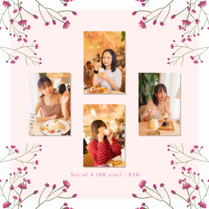 Tokimeki JUMP 「おはな」Means Family / 「おバカ」Means Idiot Photo Sets