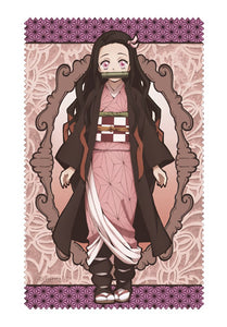 [PO] Kimetsu no Yaiba Nezuko Kamado Cleaner Cloth