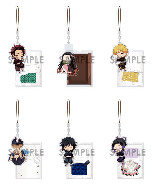 [PO] Demon Slayer: Kimetsu no Yaiba Oyasumi Acrylic Strap Vol.1