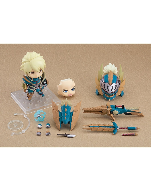 [PO] Nendoroid 1421-DX Hunter: Male Zinogre Alpha Armor Ver.