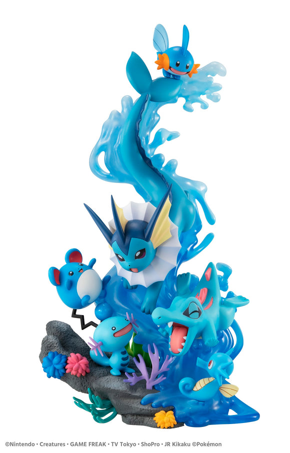 [PO] G.E.M. EX Pokemon Water Type Dive to Blue