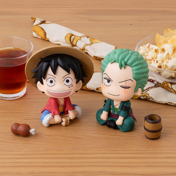 [PO] LookUp ONE PIECE Luffy & Roronoa Zoro [With Bonus]