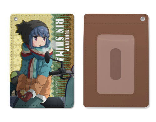 [PO] Yuru Camp Rin Shima Full Color Pass Case