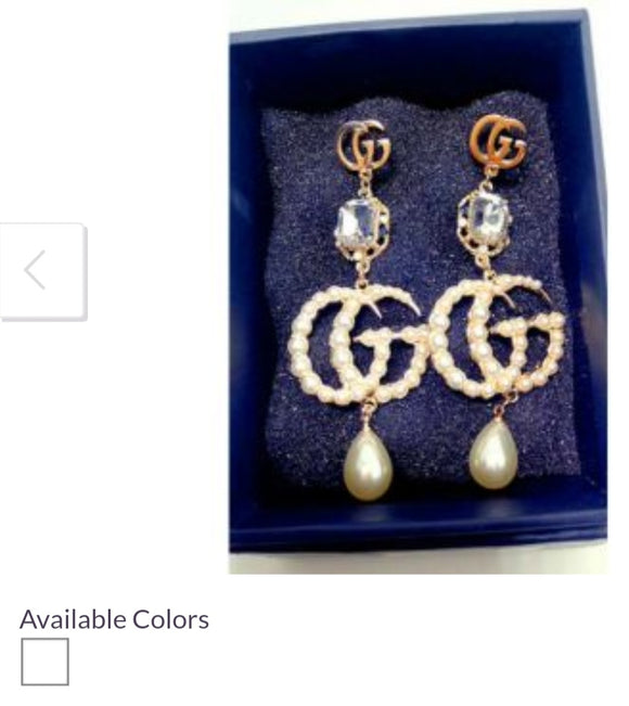 Women's Gucci Earrings Set