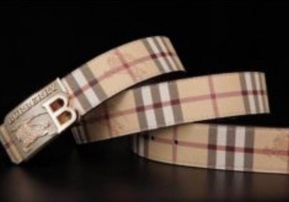 Burberry Women's and Men's Fashion Belt