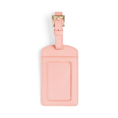 Luggage Tag - Pale Pink