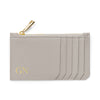Slim Zip Cardholder - Grey