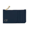 Slim Zip Cardholder - Navy