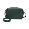 Crossbody Bag - Hunters Green Saffiano Leather