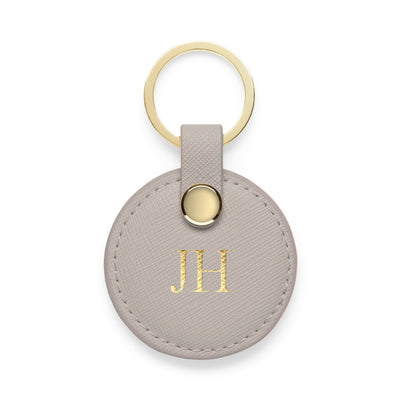 Circle Keyring - Grey